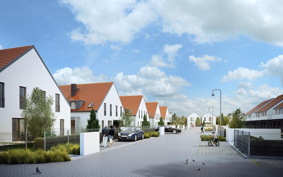 Osiedle domów jednorodzinnych, Wrocław