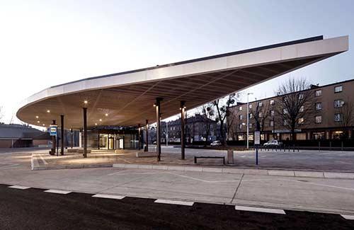Dworzec autobusowy, Piekary Śląskie