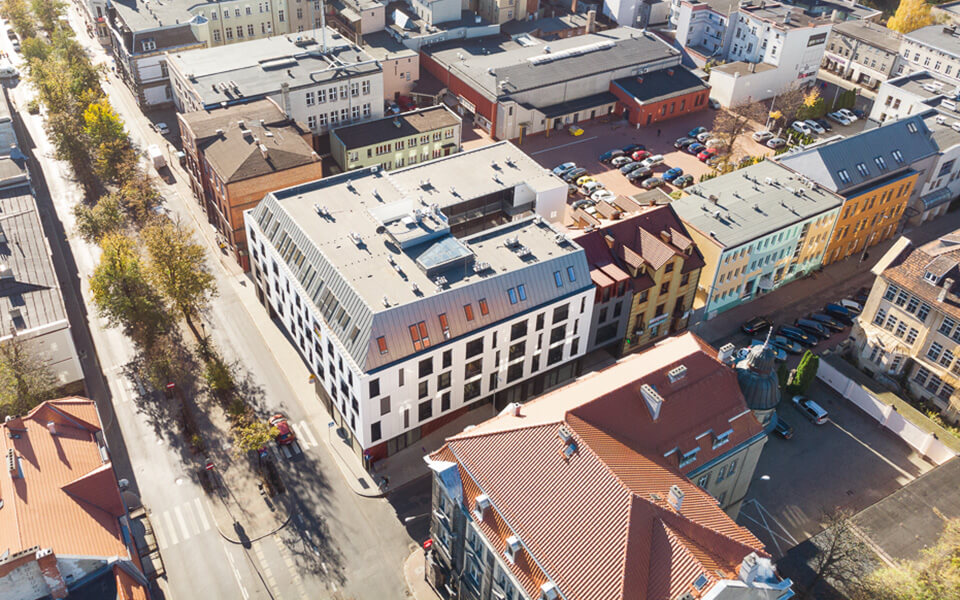 Lider Rewitalizacji 2018 dla budynku przy Skarbowej wLesznie